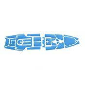 MarineMat Pro Angler 12 Standard Deck Mat Kayak Kit, , medium