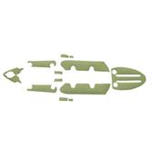 MarineMat Wilderness Systems Ride 115X Standard Deck Mat Kayak Kit, , medium