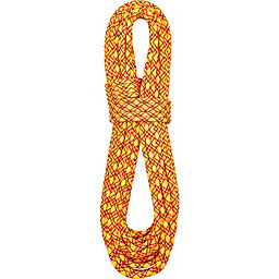 BlueWater 7.7 mm Ice Floss Rope - Dry, Yellow-Red, 256