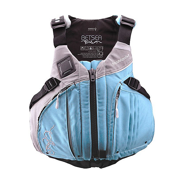 Stohlquist BetSEA Life Jacket - PFD, Blue/Gray, 600