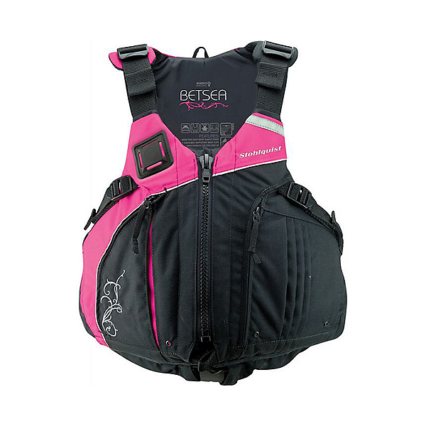 Stohlquist BetSEA Life Jacket - PFD Pink/Black - Plus, Pink/Black, 600