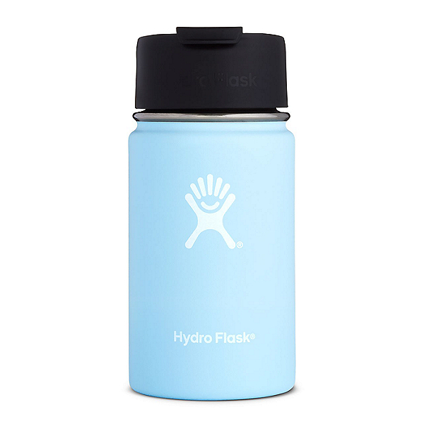 Hydro Flask 12 oz. Wide Mouth Bottle with Flip Lid Frost, Frost, 600