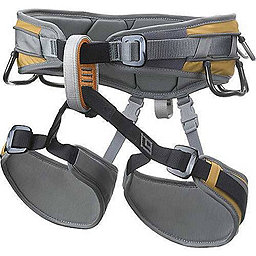 Black Diamond Big Gun Climbing Harness, Tequila Gold, 256