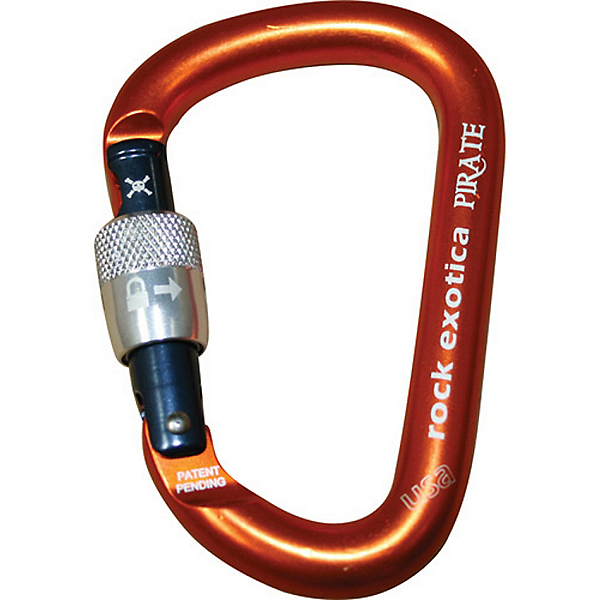 Rock Exotica Pirate Screw-Lock Carabiner - Screw-Gate, , 600