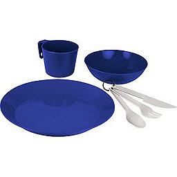 GSI Outdoors Cascadian 1-Person Table Set, Blue, 256