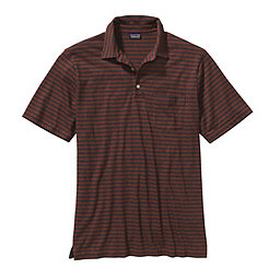 Patagonia Short Sleeved Squeaky Clean Polo - Men's, Chronicle: Rusted Iron, 256