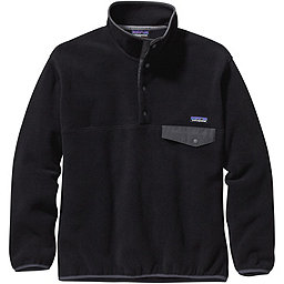 Patagonia Synchilla Snap-T Pullover Fleece - Men's, Black-Forge Grey, 256