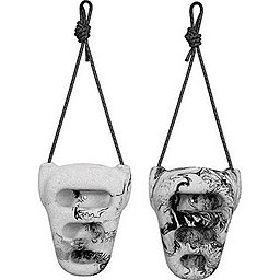 Metolius Rock Rings 3D, Black-White Swirl, 256