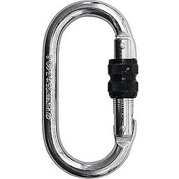 CAMP Steel Oval Carabiner - Screw gate, , 256