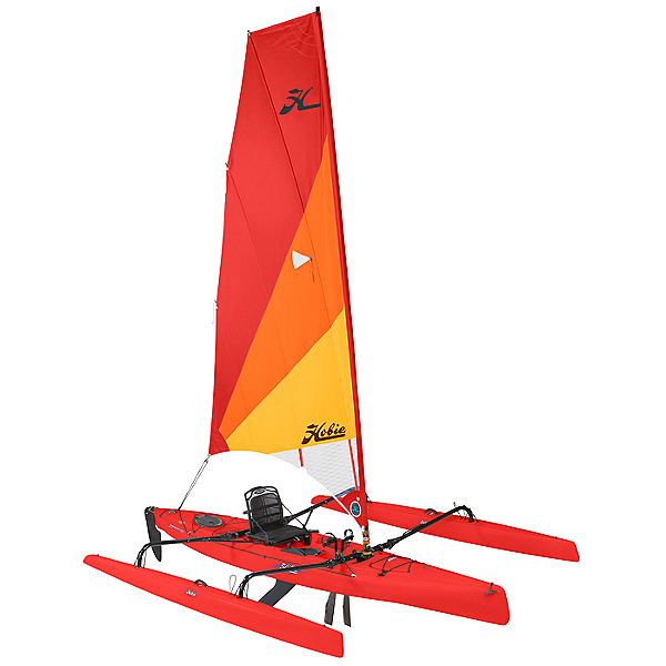 2019 Hobie Mirage Adventure Island Kayak (Limited Availability), Red Hibiscus, 600