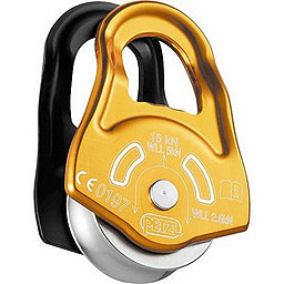 Petzl Partner Pulley, Yellow-Black, 256
