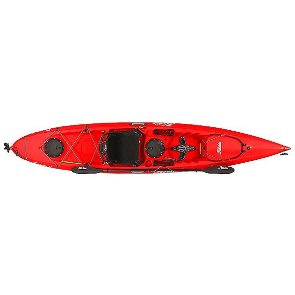 Hobie Mirage Revolution 13 Kayak, Red Hibiscus, 600
