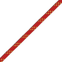 BlueWater 9.5 mm Haul Line Static Rope - Standard, Red-Yellow, 256