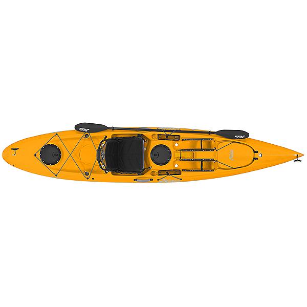 Hobie Quest 13 Deluxe Kayak, Papaya Orange, 600
