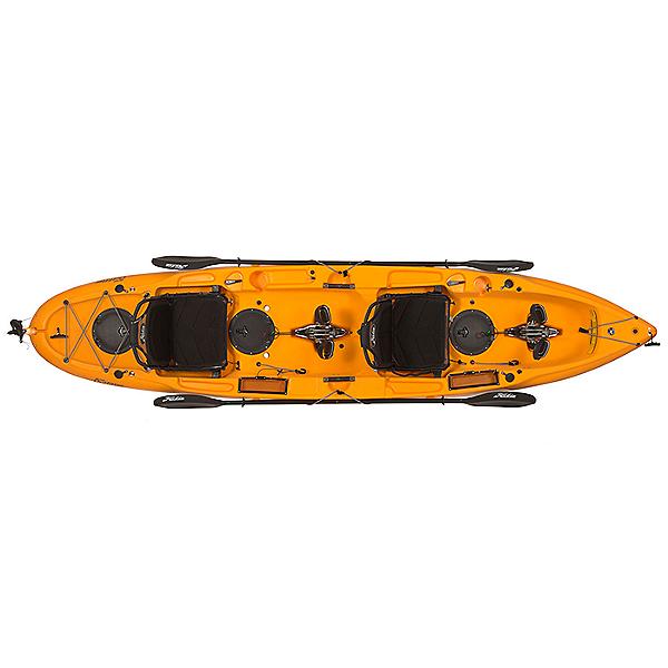 Hobie Mirage Outfitter Tandem Kayak, Papaya Orange, 600