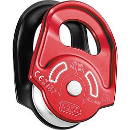 Petzl Rescue Pulley, Red-Black, 256