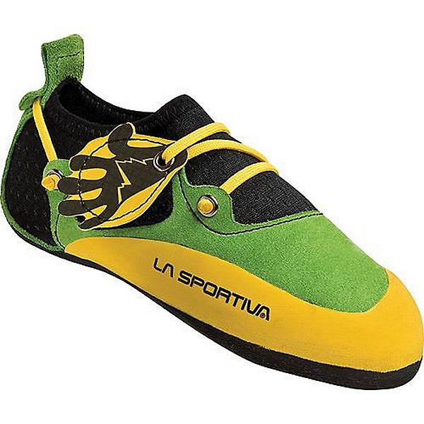 La Sportiva Stickit Rock Shoe - Youth - 32-33/Green, Green, 600