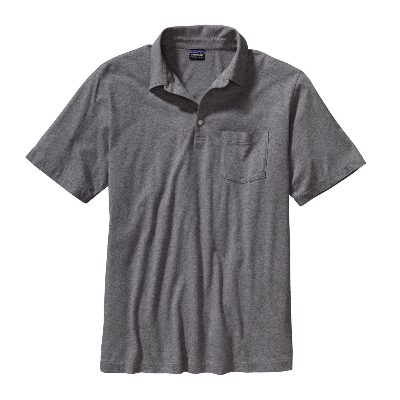 Patagonia Short Sleeved Squeaky Clean Polo Shirt Mens