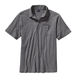 Patagonia Short-Sleeved Squeaky Clean Polo Shirt - Men's, Feather Grey, 256