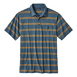 Patagonia Short-Sleeved Squeaky Clean Polo Shirt - Men's, Branch Creek: Bay Blue, 256