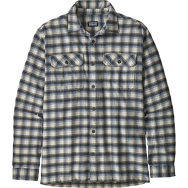 Patagonia Fjord Flannel Long Sleeve Shirt - Men's - XL/Castroville-Oyster White, Castroville-Oyster White, 600
