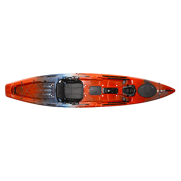 Wilderness Systems Radar 135 Kayak, Atomic Orange, 600