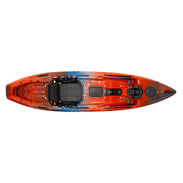 Wilderness Systems Radar 115 Kayak, Atomic Orange, 600