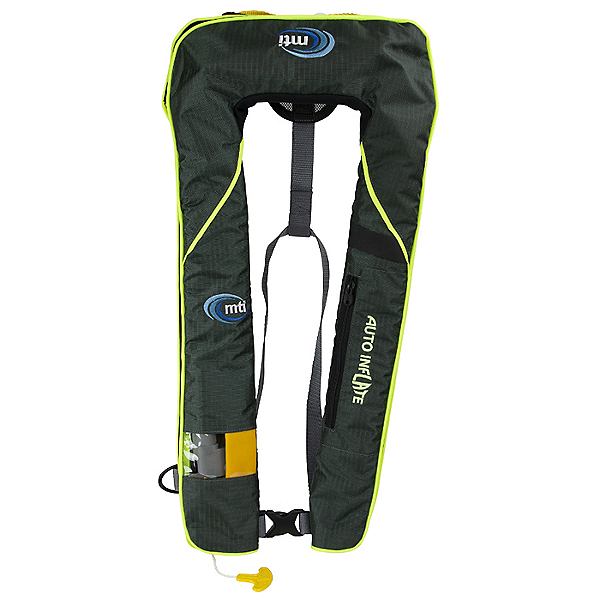 MTI Neptune Auto Inflatable Life Jacket PFD, Midnight Green, 600