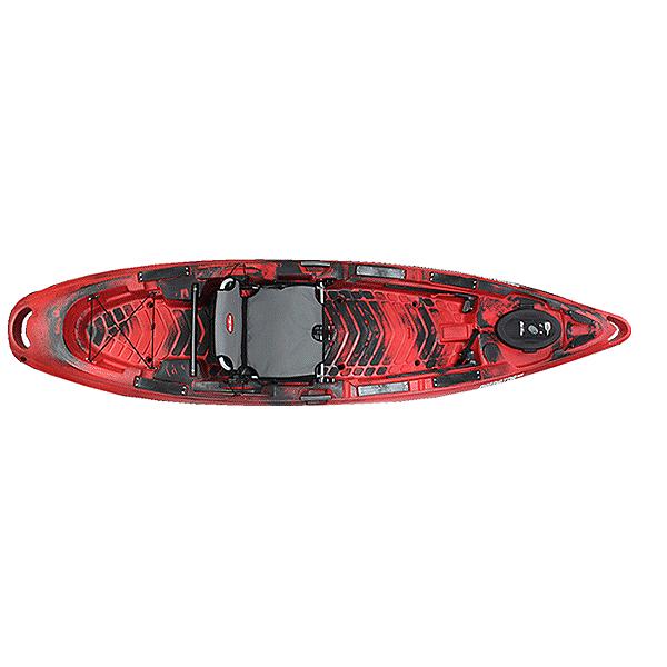 Old Town Predator MX Kayak Black Cherry, Black Cherry, 600
