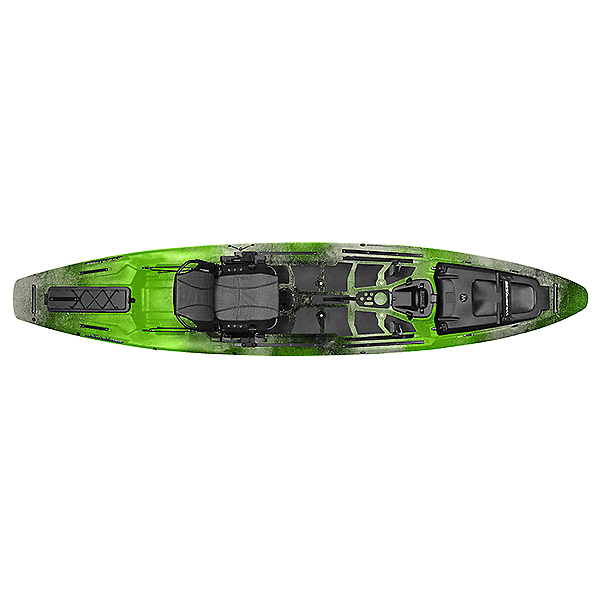 Wilderness Systems ATAK 140 Kayak Sonar Lime, Sonar Lime, 600