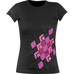 Black Diamond Argyle Tee Short Sleeve T-shirt - Women's, Black, 256