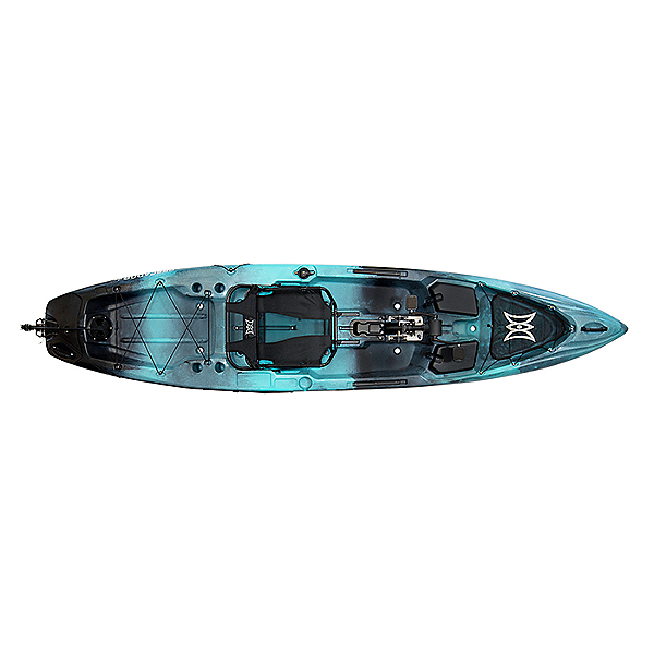 Perception Pescador Pilot 12 Pedal Kayak, Dapper, 600