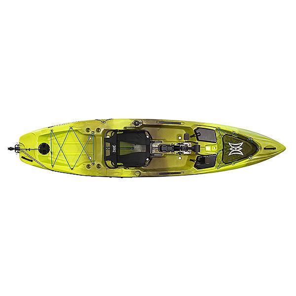 Perception Pescador Pilot 12 Pedal Kayak, Grasshopper, 600