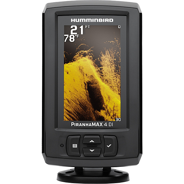 Humminbird PiranhaMAX 4 DI Down Imaging Fishfinder, , 600