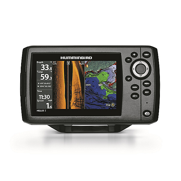 Humminbird HELIX 5 Chirp SI G2 Side Imaging GPS Fishfinder 2021, , 600
