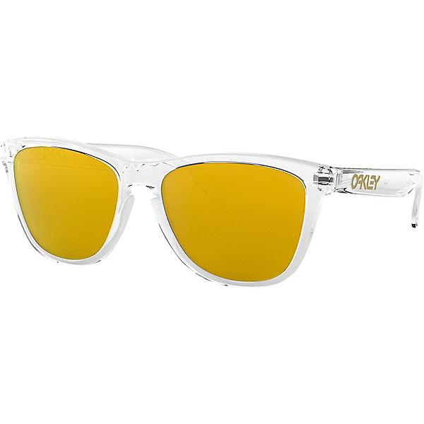 Oakley Frogskins Sunglasses - Crystal Clear w-24K Iridium, Crystal Clear w-24K Iridium, 600