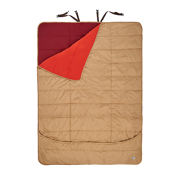 Kelty Shindig Double Blanket Canyon Brown/Lava - Double, Canyon Brown/Lava, 600