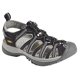 KEEN Whisper Sandal - Women's, Black-Neutral Gray, 256