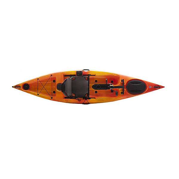 Liquid Logic Manta Ray Propel 12 Kayak Sunburst, Sunburst, 600