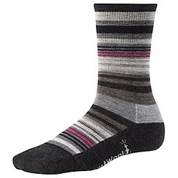 Smartwool Jovian Stripe Sock - Women's, Charcoal Heather, 256