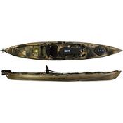 Ocean Kayak Trident Ultra 4.7 Ruddered Kayak - Orange Camo - Used, , medium