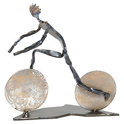 Independent Authors Mountain Biker Sculpture, No 1, 256