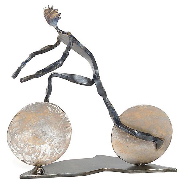 Independent Authors Mountain Biker Sculpture, , 600