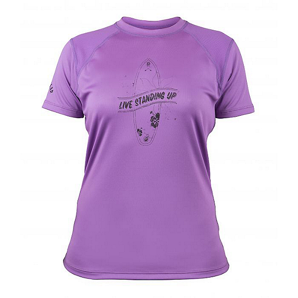 Bomber Gear Monterey SUP Performance Tee S/S - Women - Discontinued, Orchid, 600