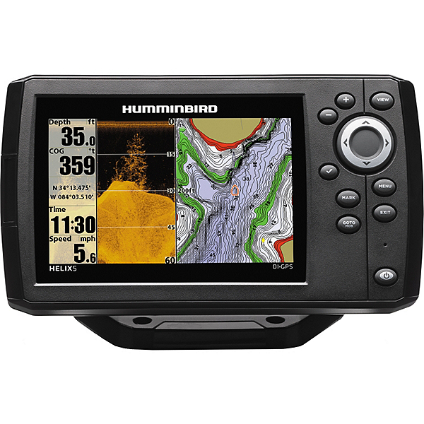 Humminbird HELIX 5 Chirp DI G2 Down Imaging GPS Fishfinder