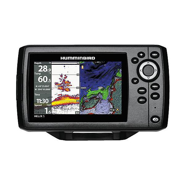 Humminbird Helix 5 CHIRP Sonar/GPS G2 Combo Fishfinder, , 600