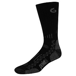 Point6 Hiking Tech Crew Sock - Men's, Black, 256