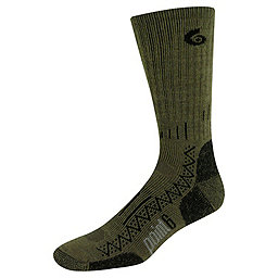Point6 Hiking Tech Crew Sock - Men's, Taupe, 256