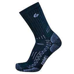 Point6 Trekking Tech Crew Sock - Men's, Black, 256