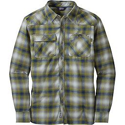 Outdoor Research Feedback Flannel Shirt - Men's, Night-Hops, 256